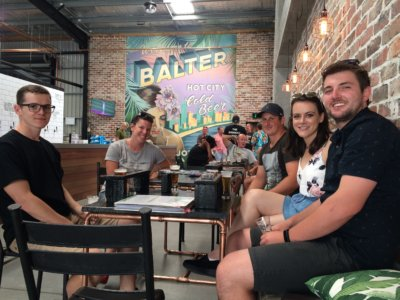 Balter Brewing on a Gold Coast brewery tour