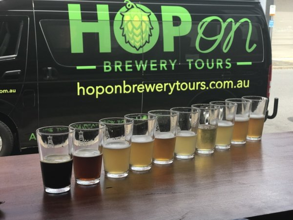 Brewery Tours Gift Voucher