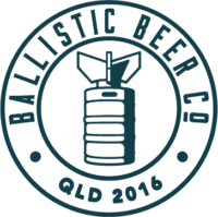 Ballistic Beer Co Brisbane craft beer logo
