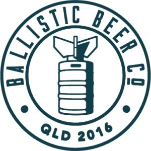 Ballistic Beer Co Brisbane craft beer logo