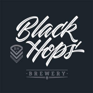 Black Hops Brewery The Least Covert Operation in Brewing Gold Coast craft beer black logo