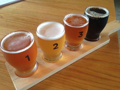 craft beer paddle