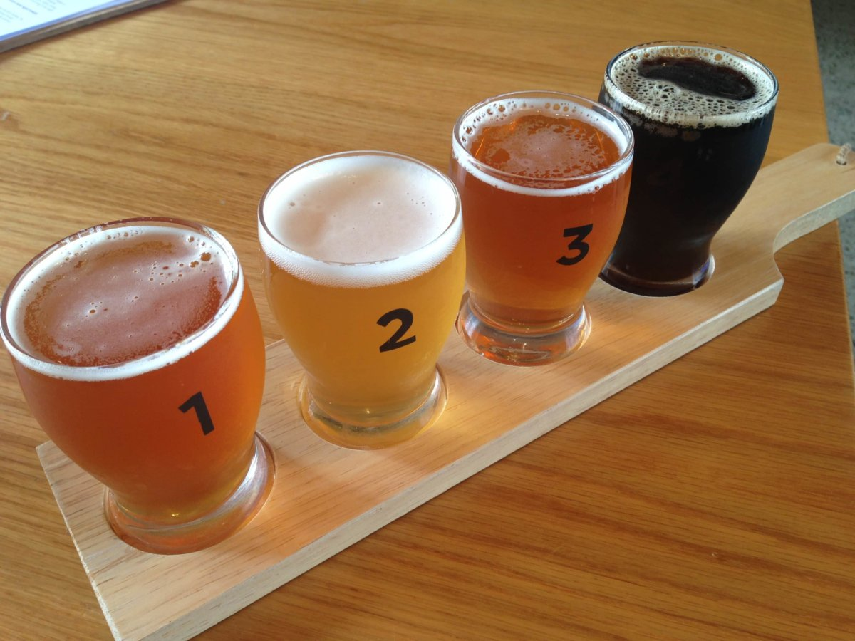 craft beer paddle