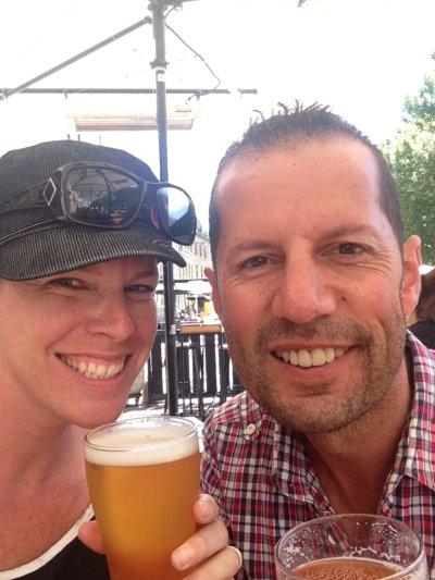 Matt and Joslyn ESK BeerFest Launceston