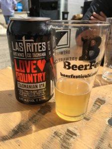 Last Rites Brewing at BeerFest