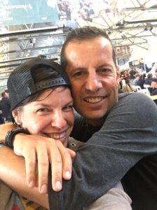 Jos and Matt at Hobart BeerFest