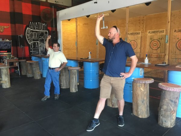 Gold Coast Brewery Tour and Axe Throwing