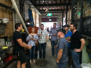 Behind the scenes tour at Newstead