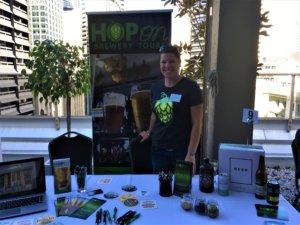 At a Brisbane Marketing event