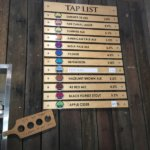 Beer Menu at IronBark Hill Brewing