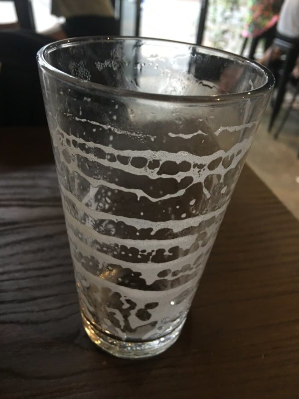 Brewsvegas 2019 Beer Glass Lacing
