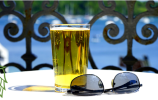 beer and sunnies
