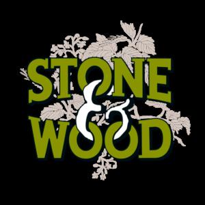 stone and wood logo